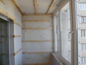 Обшивка стен вагонкой на обрешетку
