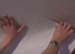 Оклейка гипсокартона стеклохолстом