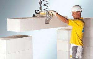 Размеры газобетонных блоков для несущих стен