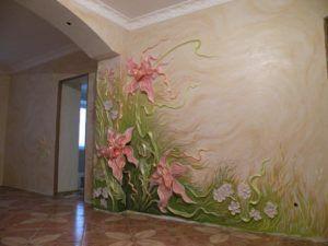 фреска стена
