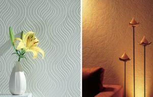 Текстурная покраска стен