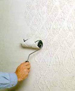 краска по стене