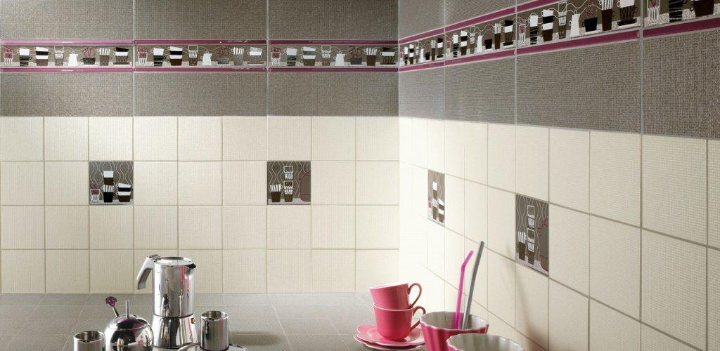 Укладка плитки на стену в кухню