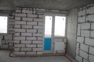 Внутренняя отделка стен из пеноблоков