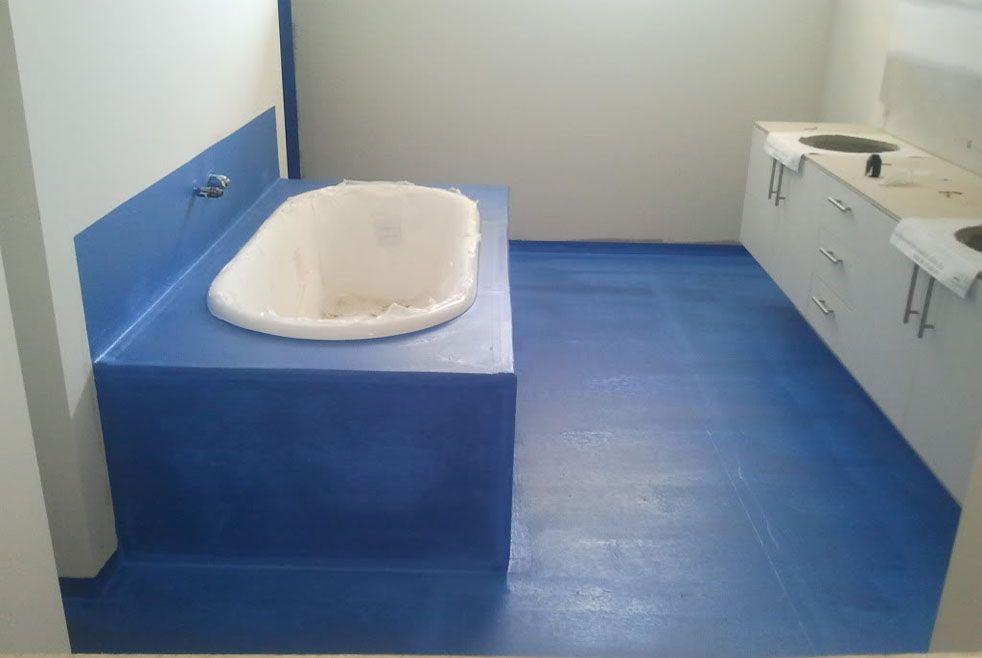 Гидроизоляция пола и стен ванной комнаты в деревянном доме