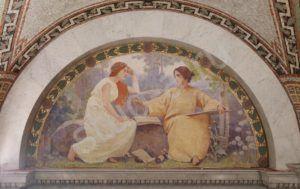 Как сделать фреску на стене своими руками