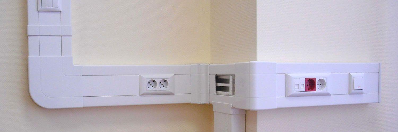 крепления кабель-канала к стене