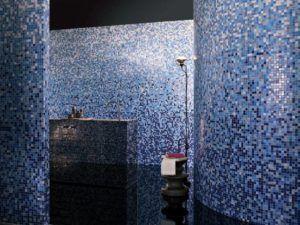 стены синий