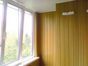 отделка у окна