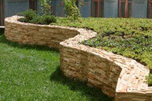стена камень