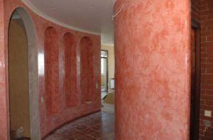 стена под мрамор