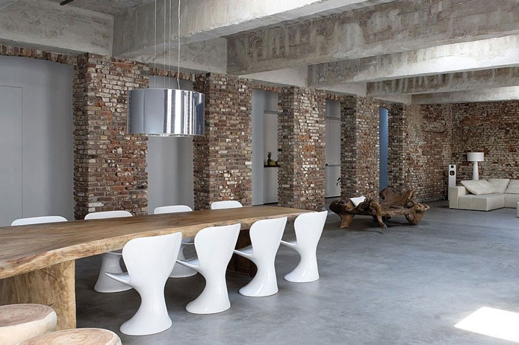 полы бетон
