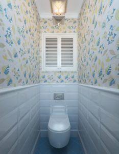 туалет отделка