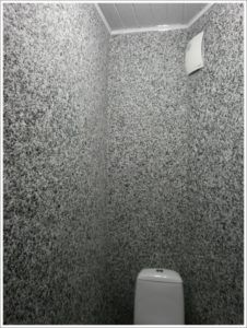 туалет обои