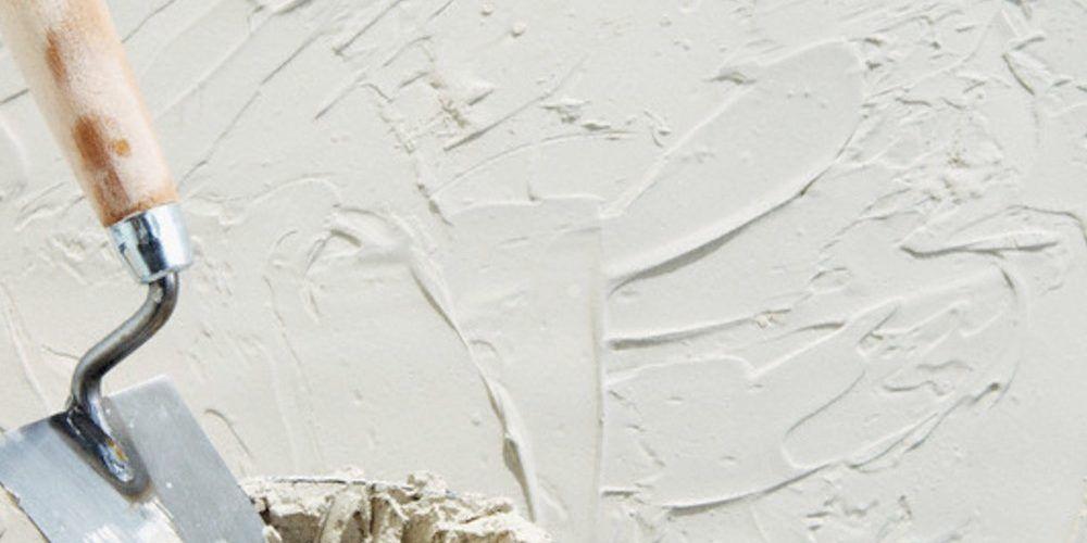 Пример обработки стен штукатуркой