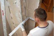 Выравнивание стен в панельном доме
