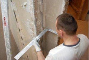 Выравнивание углов стен своими руками