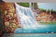 Расход краски для стен