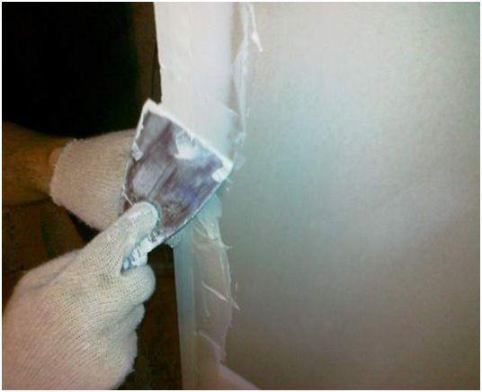 Шпаклевание углов стен