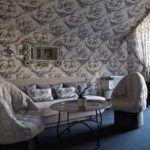 Декор стен тканью своими руками
