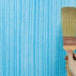 Покраска оштукатуренных стен