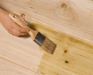 Покрытие дерева шеллаком