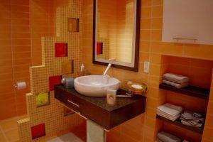 Перегородки из гипсокартона являются наиболее востребованным вариантом для ванной комнаты