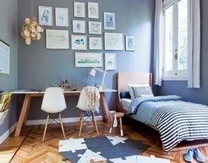 Украсить стены можно при помощи различных рисунков или фотографий.