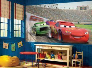 Дизайн с использованием персонажей из мультфильма точно понравится ребенку.