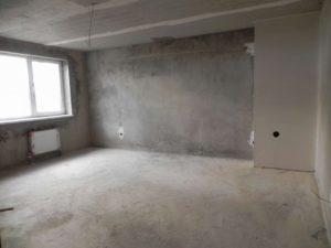 Здание - бетонный монолит