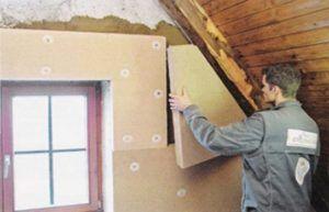 Утепление стен без труда можно выполнить самостоятельно.