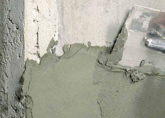 Штукатурка бетонной стены – ответственная работа