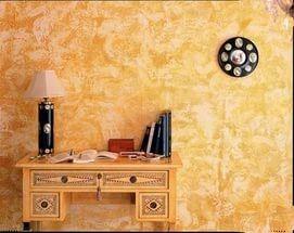 Преимущество декоративной покраски стен – отсутствие швов, стыков и необходимости подгонять рисунок.
