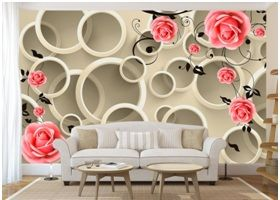 Фрагмент с 3D эффектом на стене