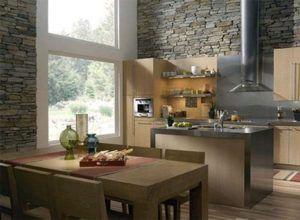 Декоративная отделка подойдет для оформления любой комнаты.