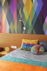 спальня стены