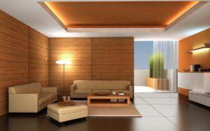 стена гостиная