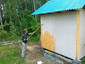 Монтаж осб на стены