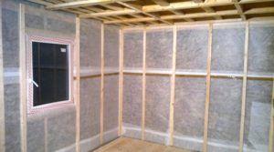 Изоляция стен от влаги внутри дома.