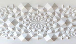 Панно из бумажных многогранников