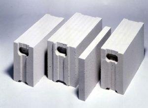 Газосиликатные блоки с профильными торцами