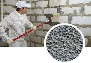 Технология оштукатуривания стен из газосиликатных блоков