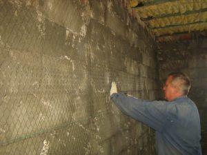 Армирование больших стен