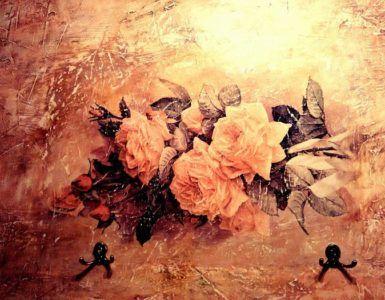 Декоративная роспись стен.