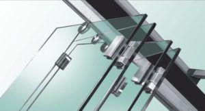 Стеклянная перегородка-трансформер