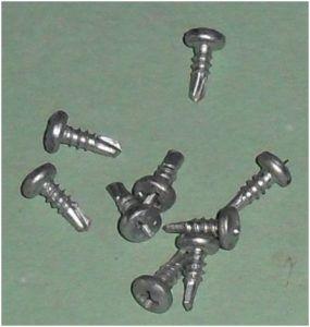 Саморезы по металлу 9,5 мм