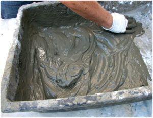 Подготовка раствора песчано-цементной штукатурки
