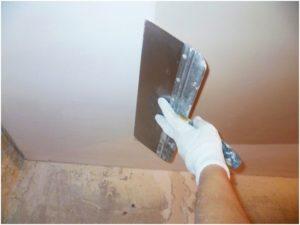 Масляно-клеевая шпатлевка применяется в помещениях с умеренным уровнем влажности