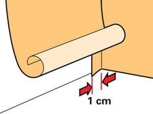 Схема расположения полотен