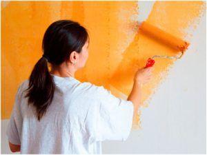 Применение стеклохолста под покраску